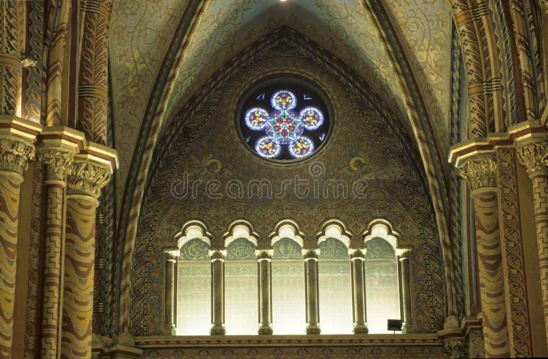 окно церков стоковая фотография rf