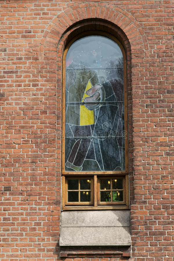 окно церков стоковая фотография