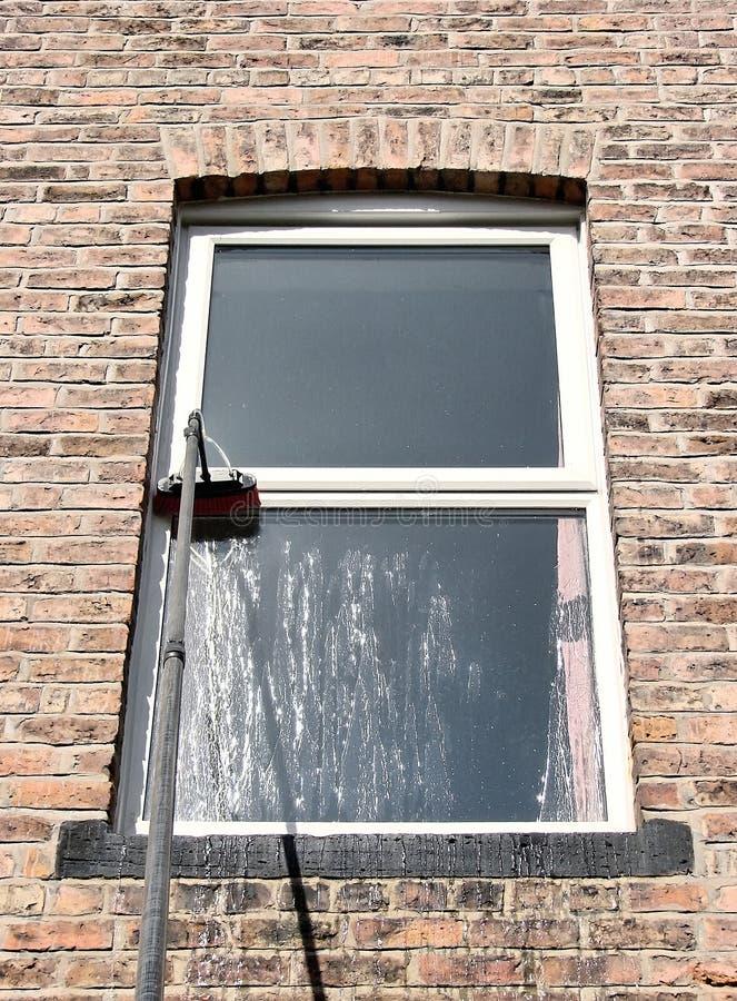 окно чистки стоковая фотография rf