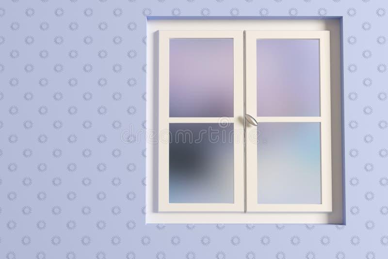 Окно иллюстрация штока