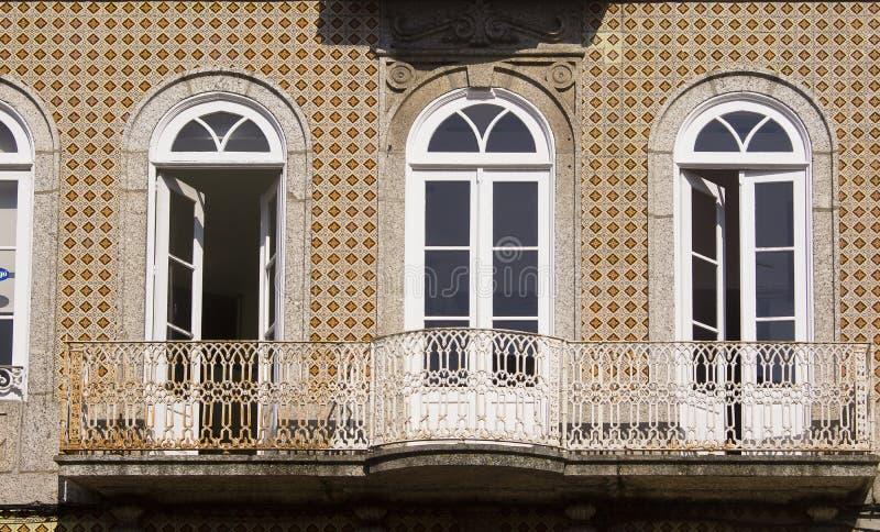 Окно Guimaraes Португалия стоковое фото