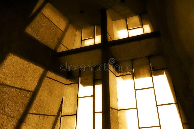 окно sepia церков стоковая фотография rf