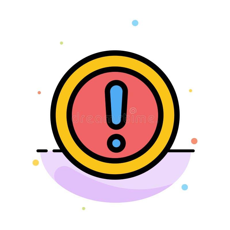 Около, информация, примечание, вопрос, шаблон значка цвета конспекта поддержки плоский иллюстрация вектора