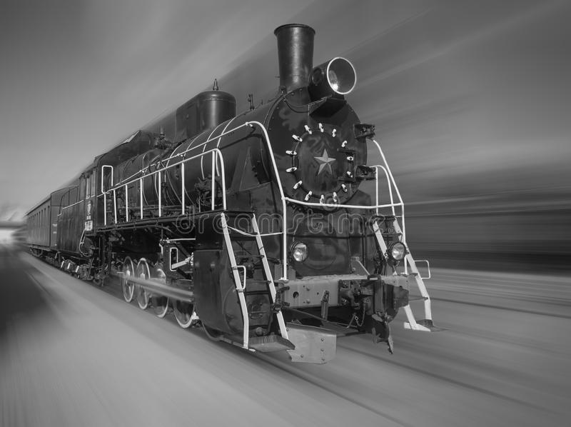 локомотивный старый пар стоковые фотографии rf