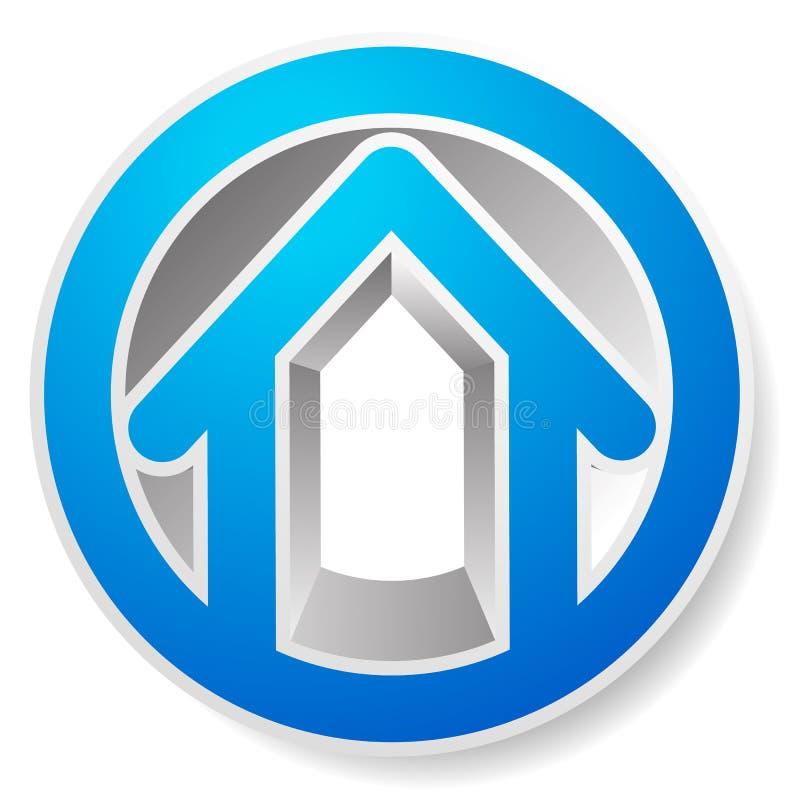 Download Оконтурите дом/символ, значок или логотип здания Иллюстрация вектора - иллюстрации насчитывающей реально, логотип: 81801651