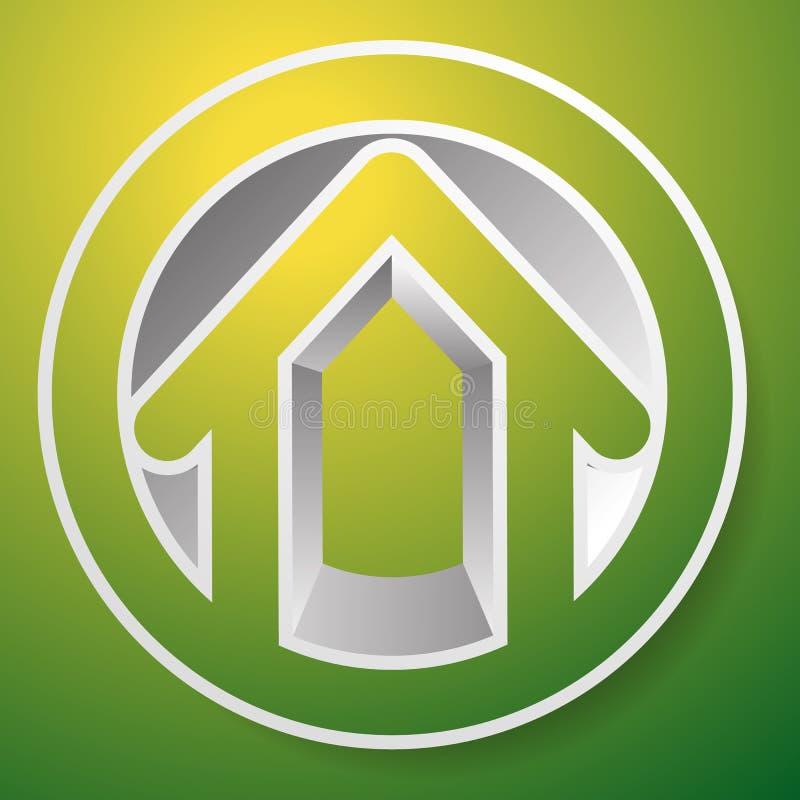 Download Оконтурите дом/символ, значок или логотип здания Иллюстрация вектора - иллюстрации насчитывающей homepage, конспектов: 81801679