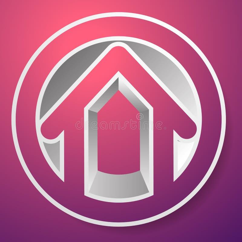 Download Оконтурите дом/символ, значок или логотип здания Иллюстрация вектора - иллюстрации насчитывающей ипотека, афоризмов: 81801703