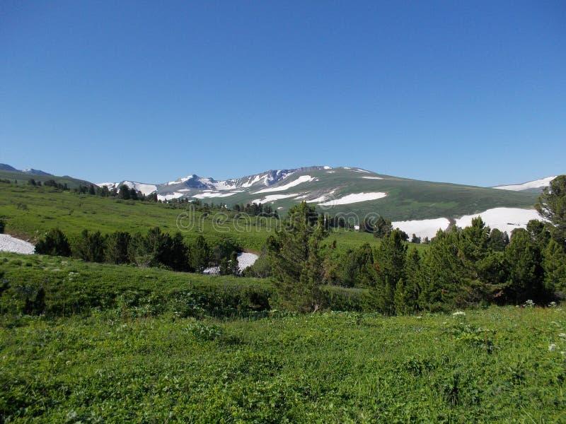 Около горы Korolevsky Belok стоковое изображение rf
