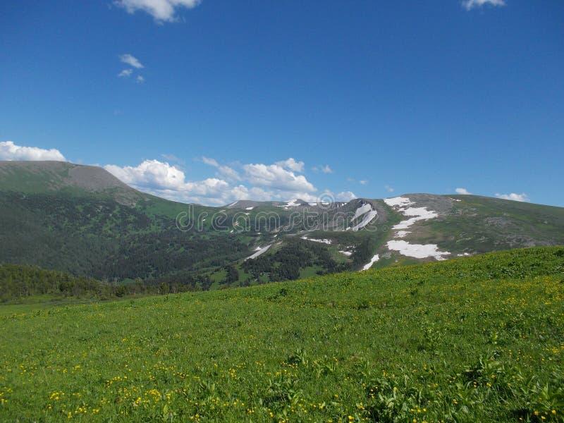 Около горы Korolevsky Belok стоковое фото rf