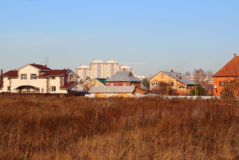 Окраины городка стоковое фото
