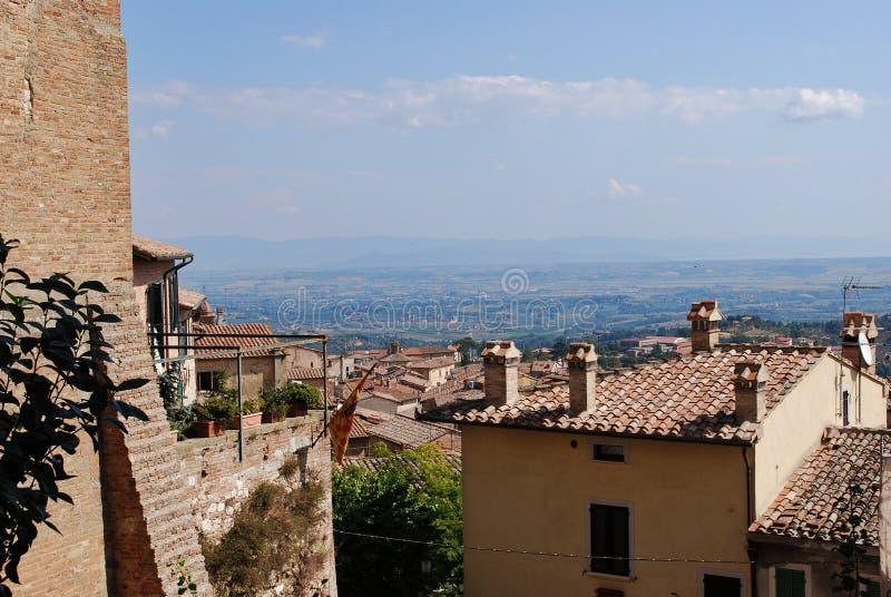 Окрестности Montepulciano стоковое фото
