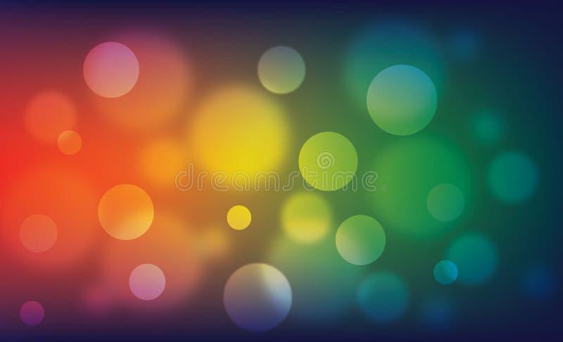 Окружающая предпосылка вектора круга стоковые фото