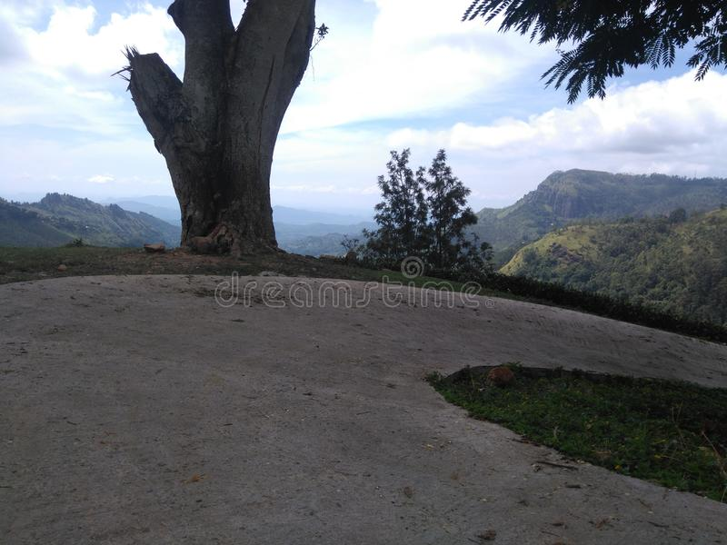 Окружающая среда Badulla Шри-Ланка стоковая фотография rf