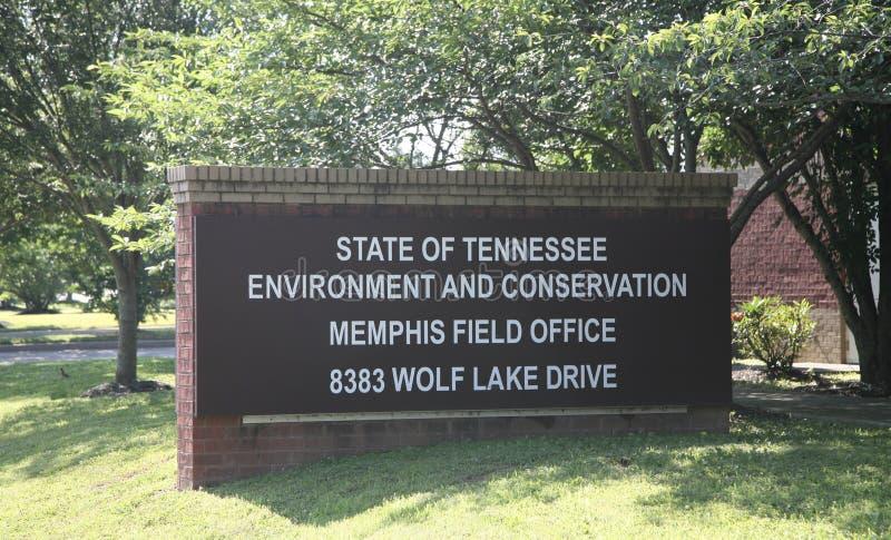 Окружающая среда Теннесси и офис консервации стоковые изображения rf