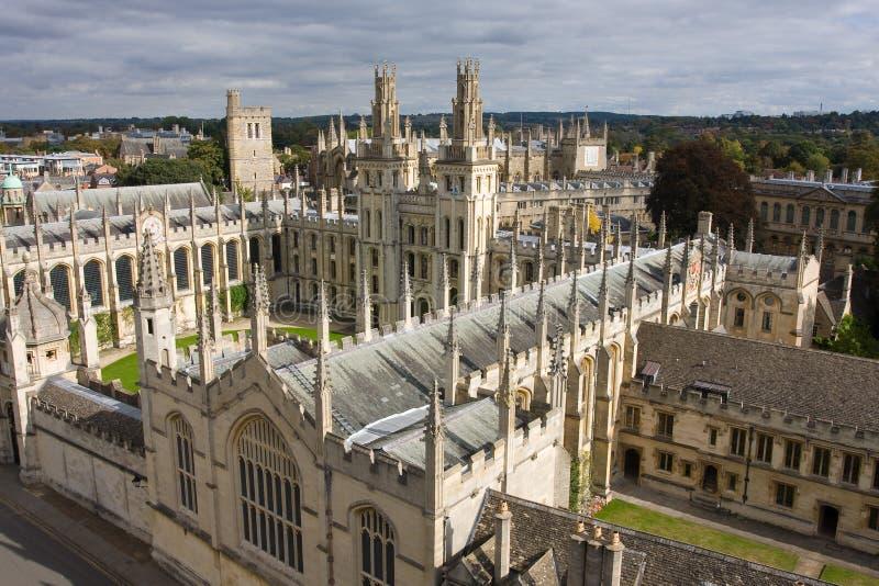 Оксфордский университет стоковые изображения rf