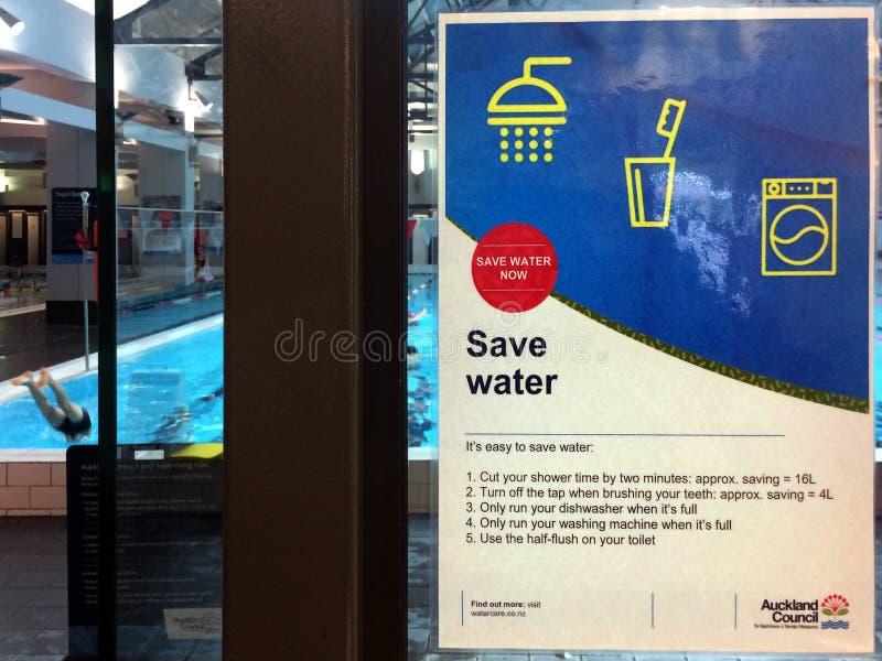 Окленд рискует худшую нехватку воды в 20 летах стоковая фотография