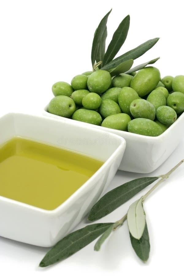 оливки масла прованские органические стоковые фото
