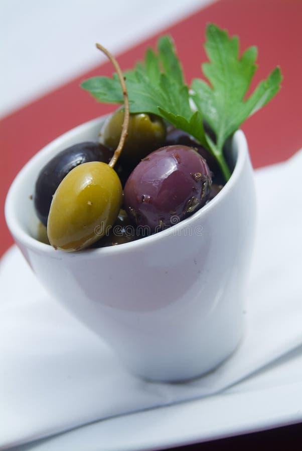 оливки шара стоковые изображения
