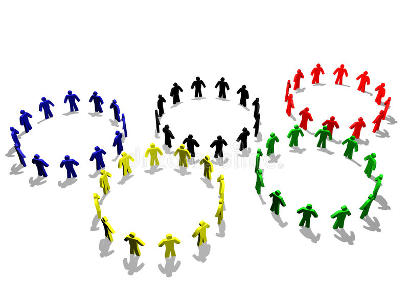олимпийский символ бесплатная иллюстрация
