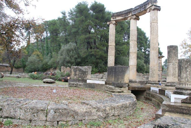 Олимпия, Греция, стоковая фотография