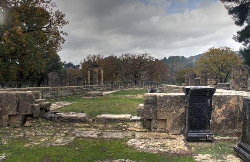 Олимпия, Греция, стоковое изображение