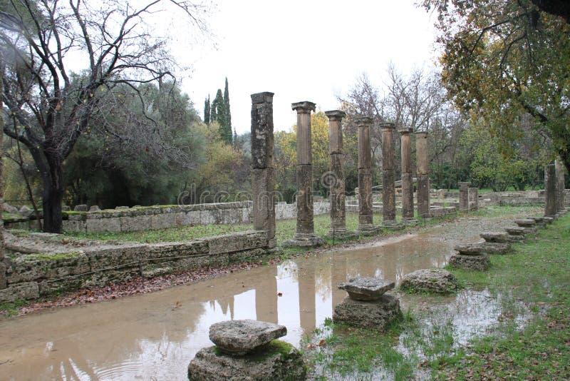 Олимпия, Греция, стоковые изображения