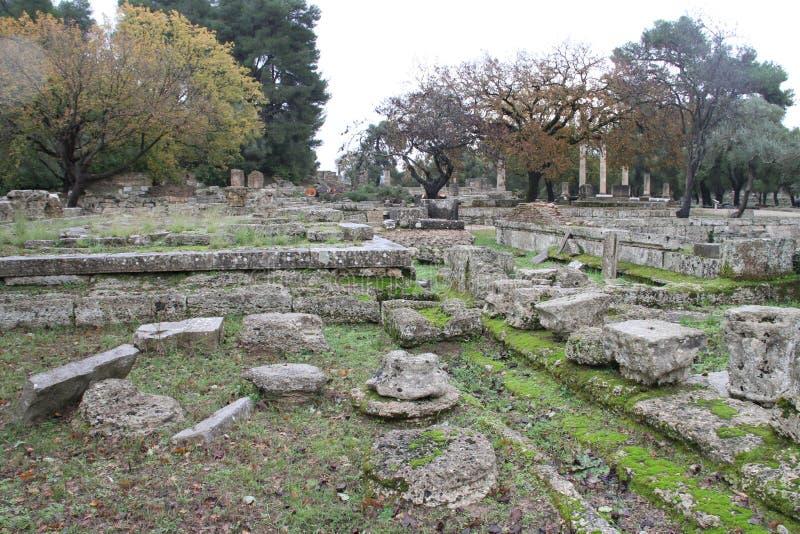 Олимпия, Греция, стоковые изображения rf