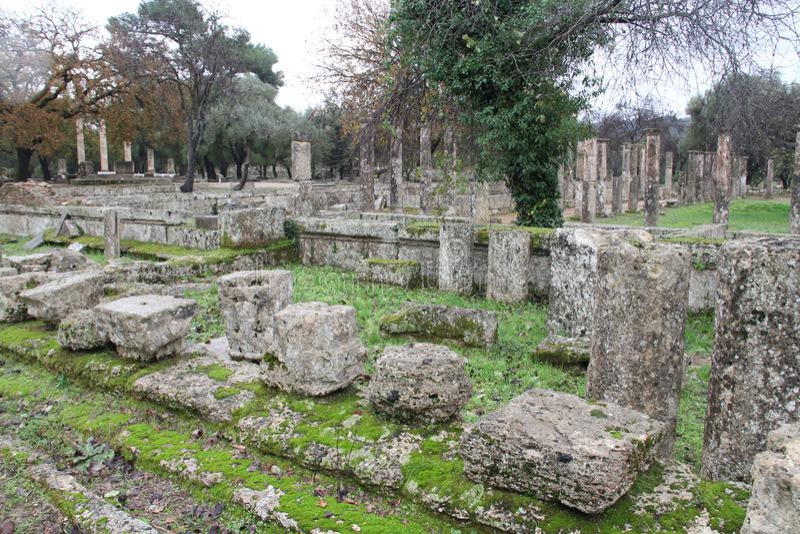 Олимпия, Греция, стоковые фото