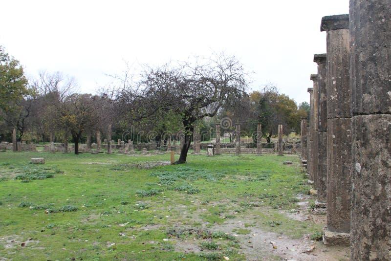 Олимпия, Греция, стоковые фотографии rf