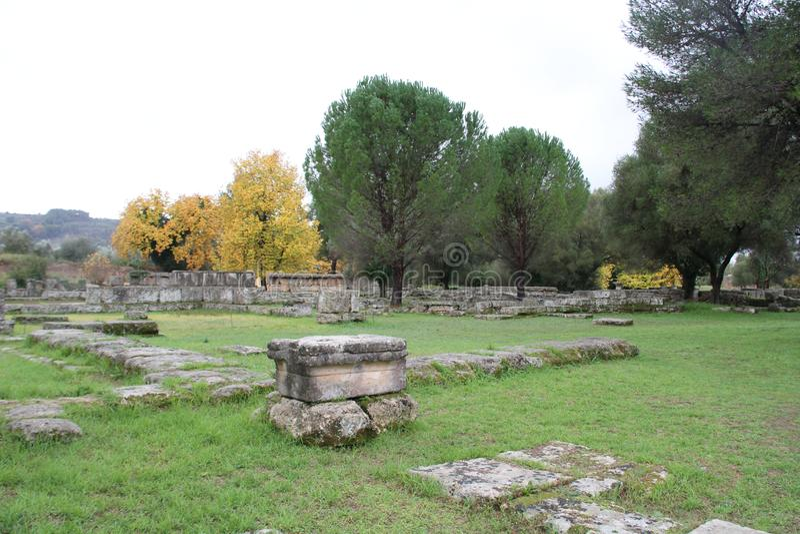 Олимпия, Греция, стоковое фото rf