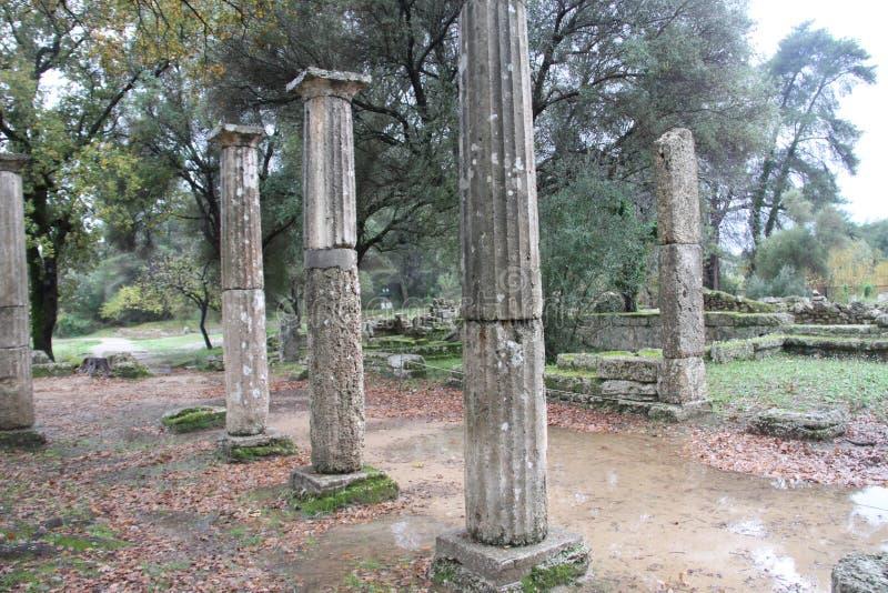 Олимпия, Греция, стоковое фото