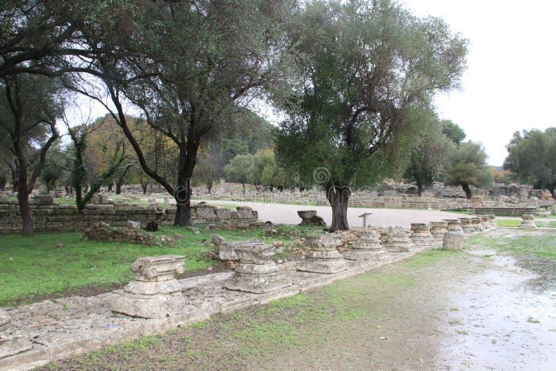 Олимпия, Греция, стоковая фотография rf