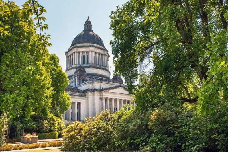 Олимпия Сиэтл Вашингтон капитолия штата Вашингтона стоковые фото