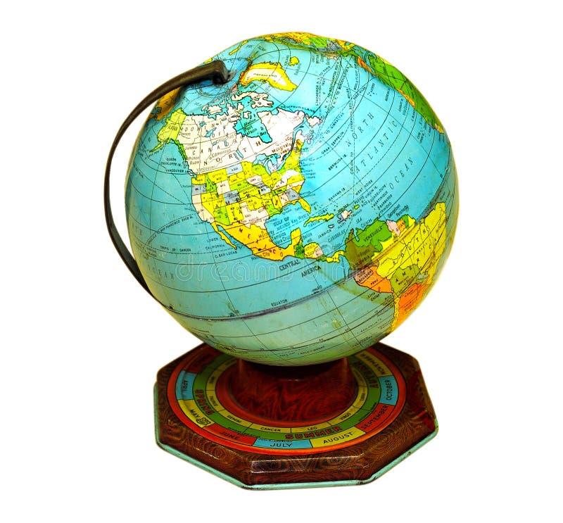 олово глобуса стоковые изображения rf