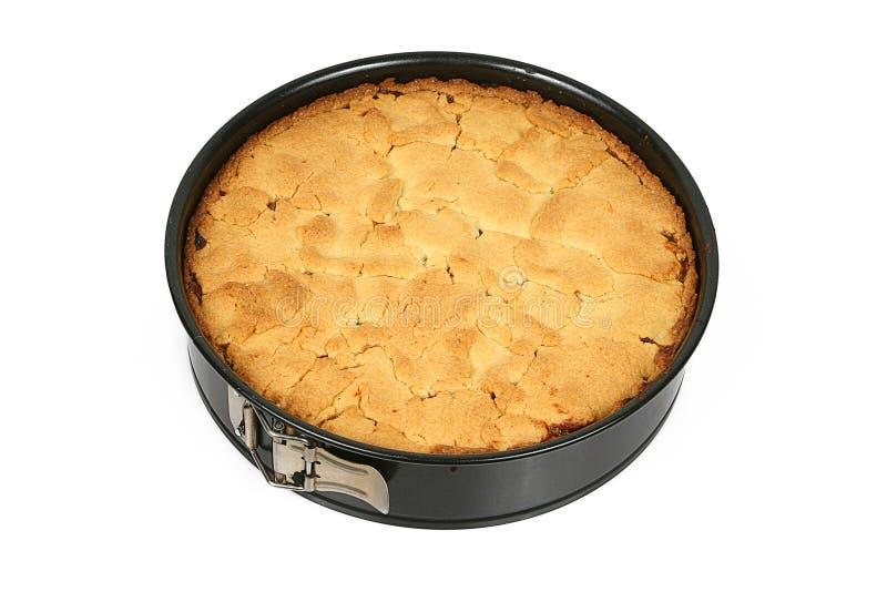 олово торта яблока стоковое фото