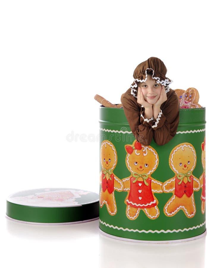 олово gingerbread живущее стоковая фотография