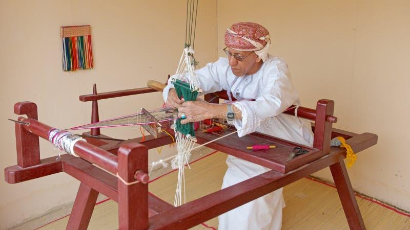 Оманский ткач стоковые изображения