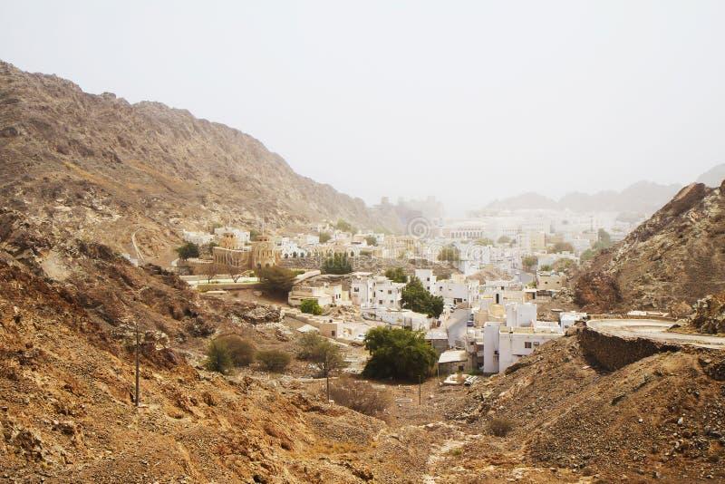 Оман маскат старый городок стоковые фотографии rf