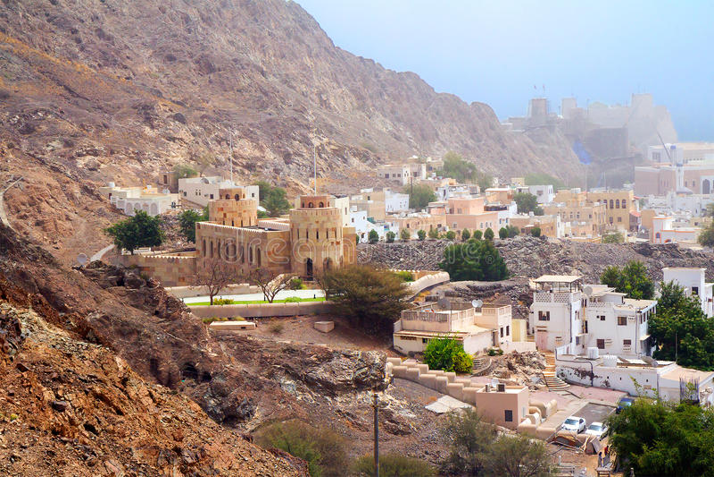 Оман маскат стоковая фотография