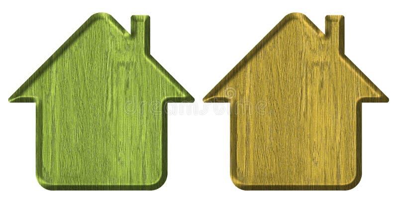 домашняя икона иллюстрация вектора