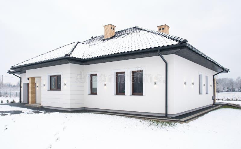дом семьи одиночная стоковые изображения rf