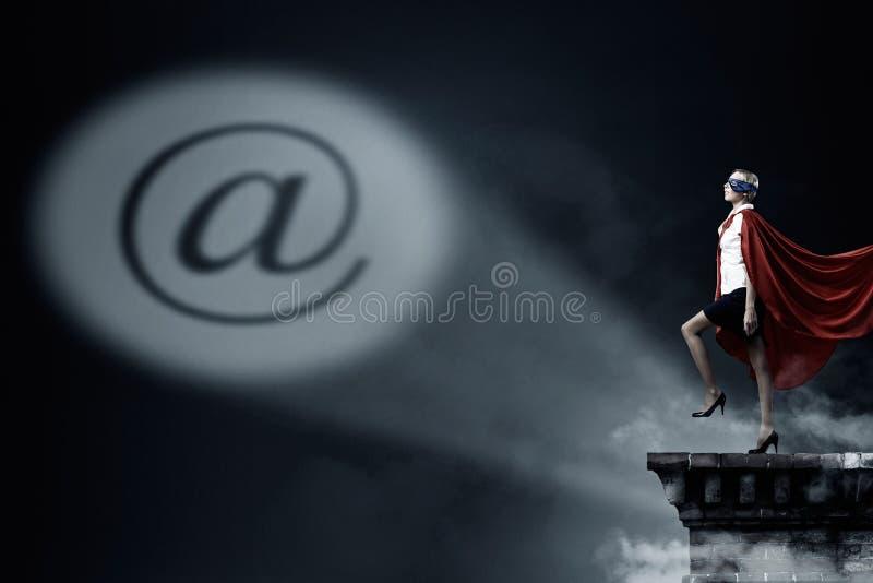 Она мощна и решительно стоковая фотография rf
