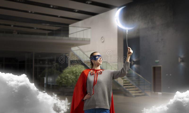 Download Она супергерой Мультимедиа стоковое фото. изображение насчитывающей воображение - 81809064