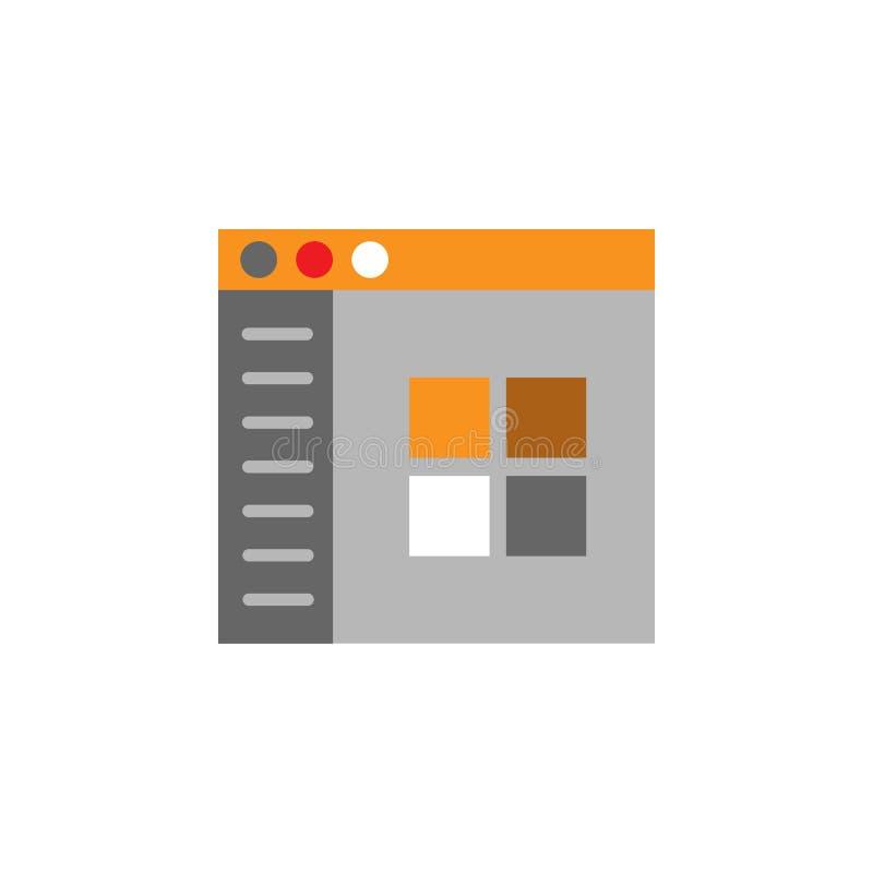 Онлайн, значок плат Элемент значка Desing сети для мобильных приложений концепции и сети Детализированное онлайн, значок плат мож иллюстрация штока