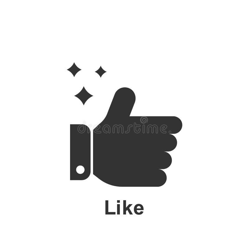 Онлайн маркетинг, как значок r r Знаки и собрание символов иллюстрация штока