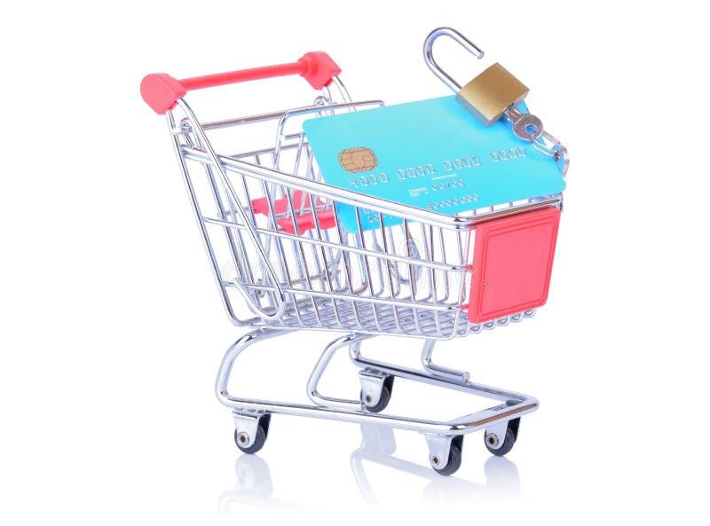 Онлайн покупки стоковые фото
