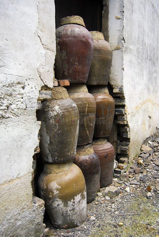 опарникы глины фарфора стоковое изображение