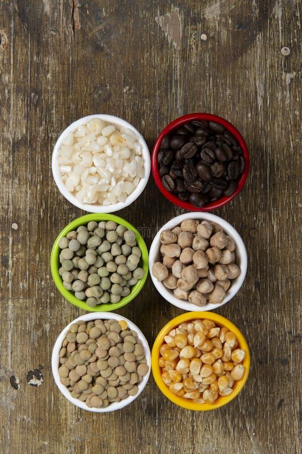 опарникы с зернами фасолей стоковое фото