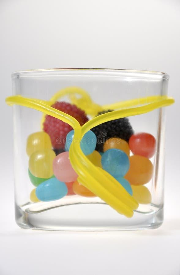 Опарник конфеты стоковое изображение rf
