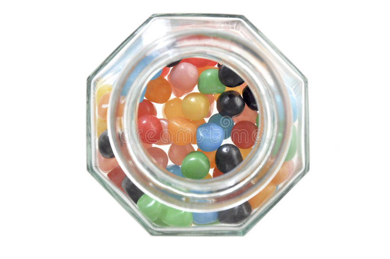Опарник конфеты стоковое фото rf